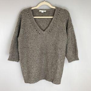 Boden Metallic Knit Sweater